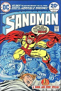 21 - Sandman 1 cover