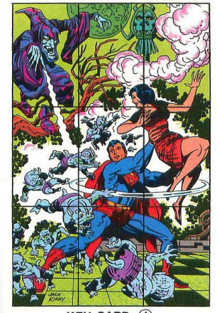 21 - Superman card puzzle 1