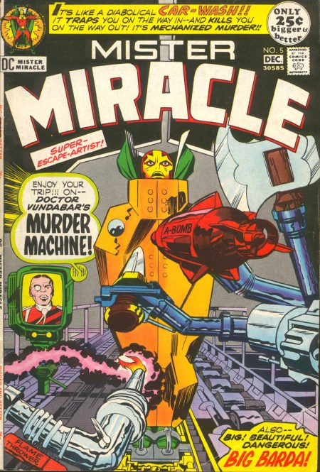 Mr Miracle 05-00 Murder Machine
