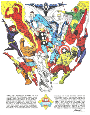 24 - Steranko Foom poster