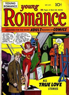 1947 - Young Romance 1 cover