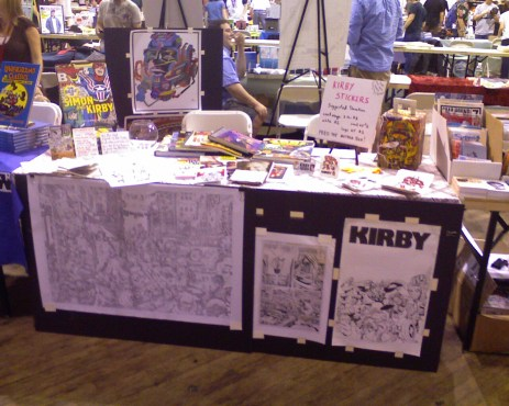 2009 - MoCCA table