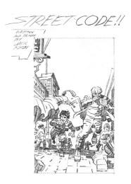 Street Code mini-comic