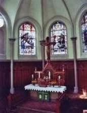 Altar der alten Olbersdorfer Kirche