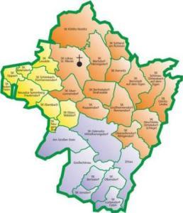 Gemeinden im Kirchenbezirk Löbau-Zittau