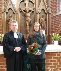 Pastor G. Wieberneit, Sabrina Engert