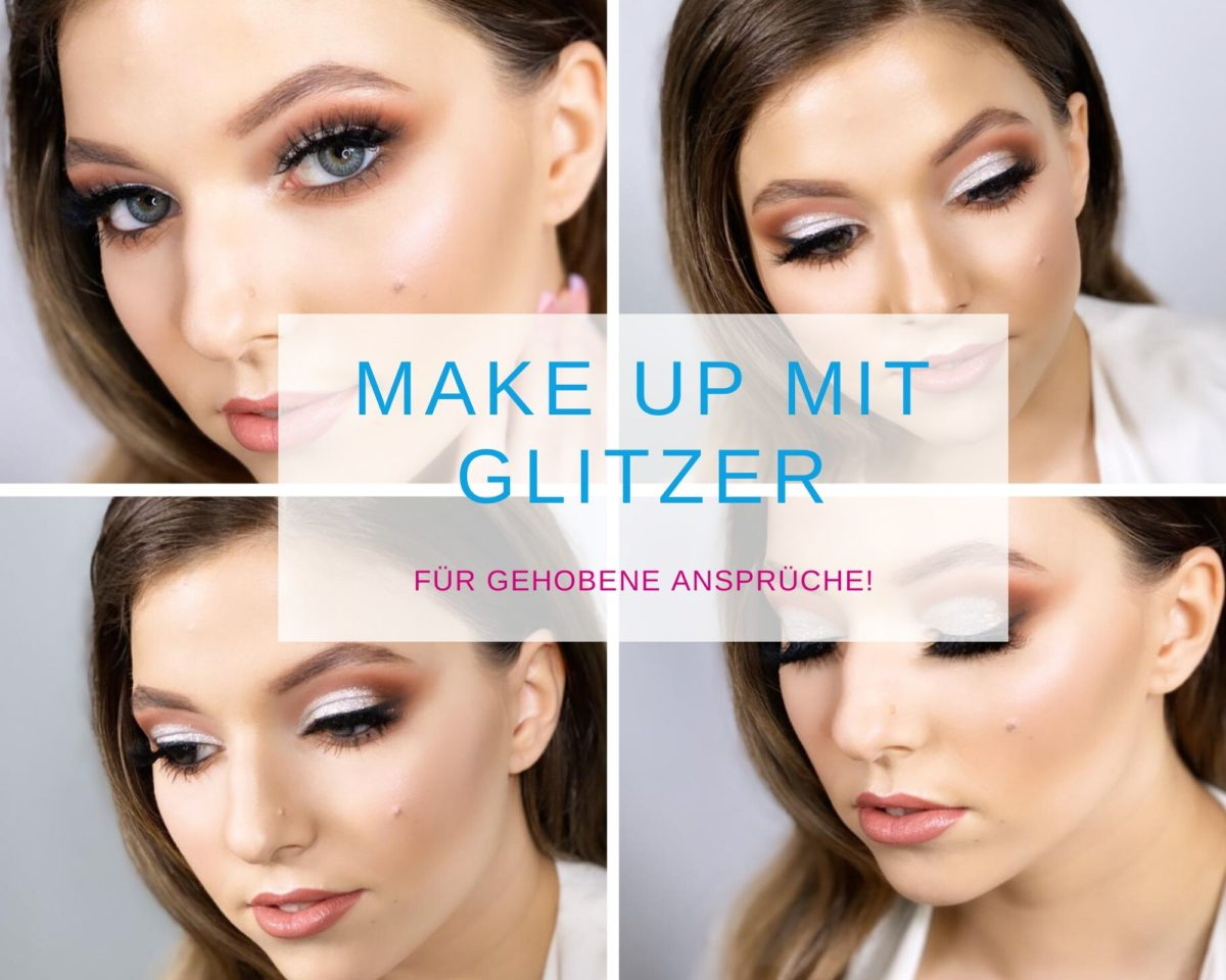 Make up mit Glitzer