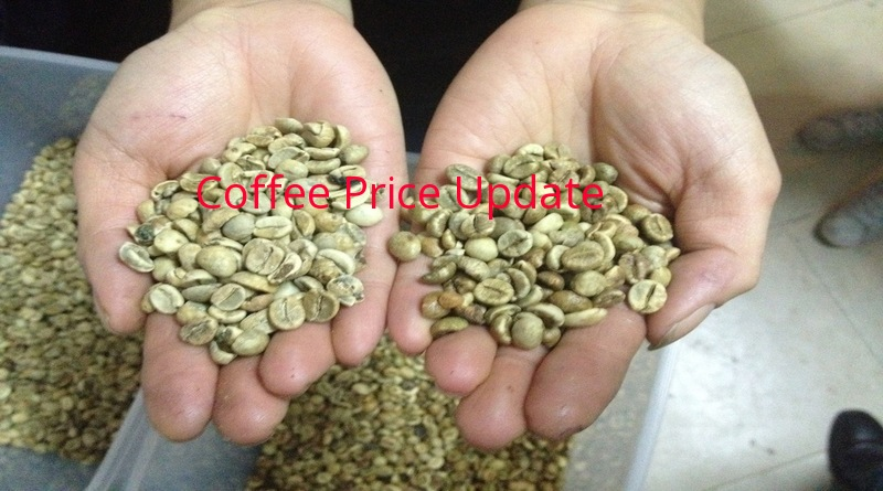 Coffee Prices (Karnataka) on 16-04-2019
