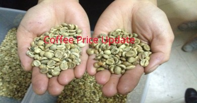 Coffee Prices (Karnataka) on 16-10-2019