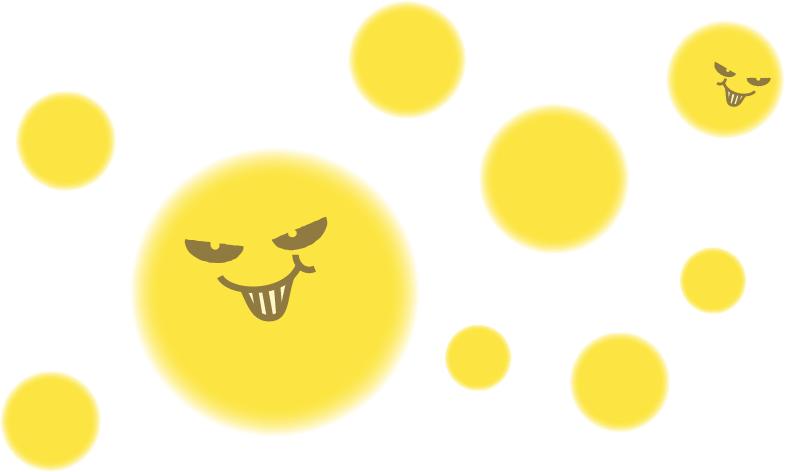 花粉イラスト