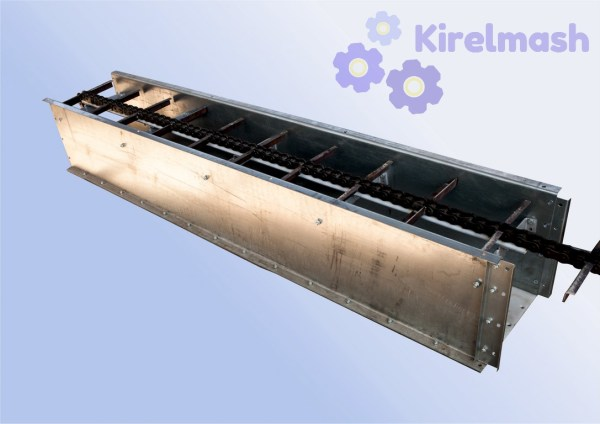 Скребковый конвейер (транспортер)