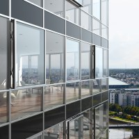 Facade insert window is new addition to Schueco UK range