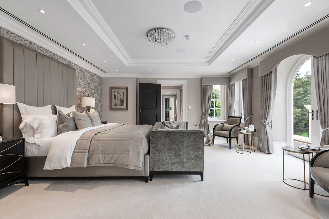 Luxury panel doors fit for a mansion | Architecture ... on Luxury Master Bedroom  id=20163
