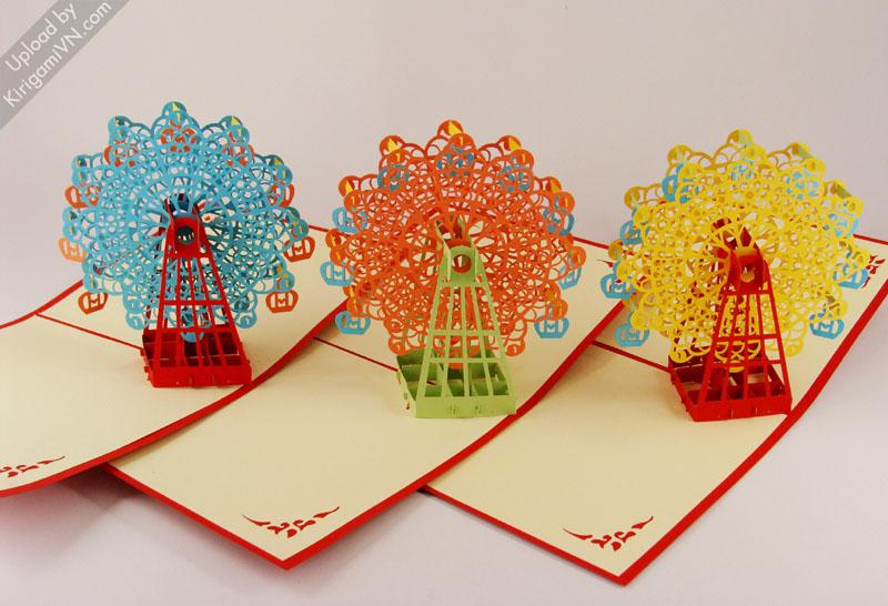 Ferris Wheel Pattern preview KirigamiVN 4