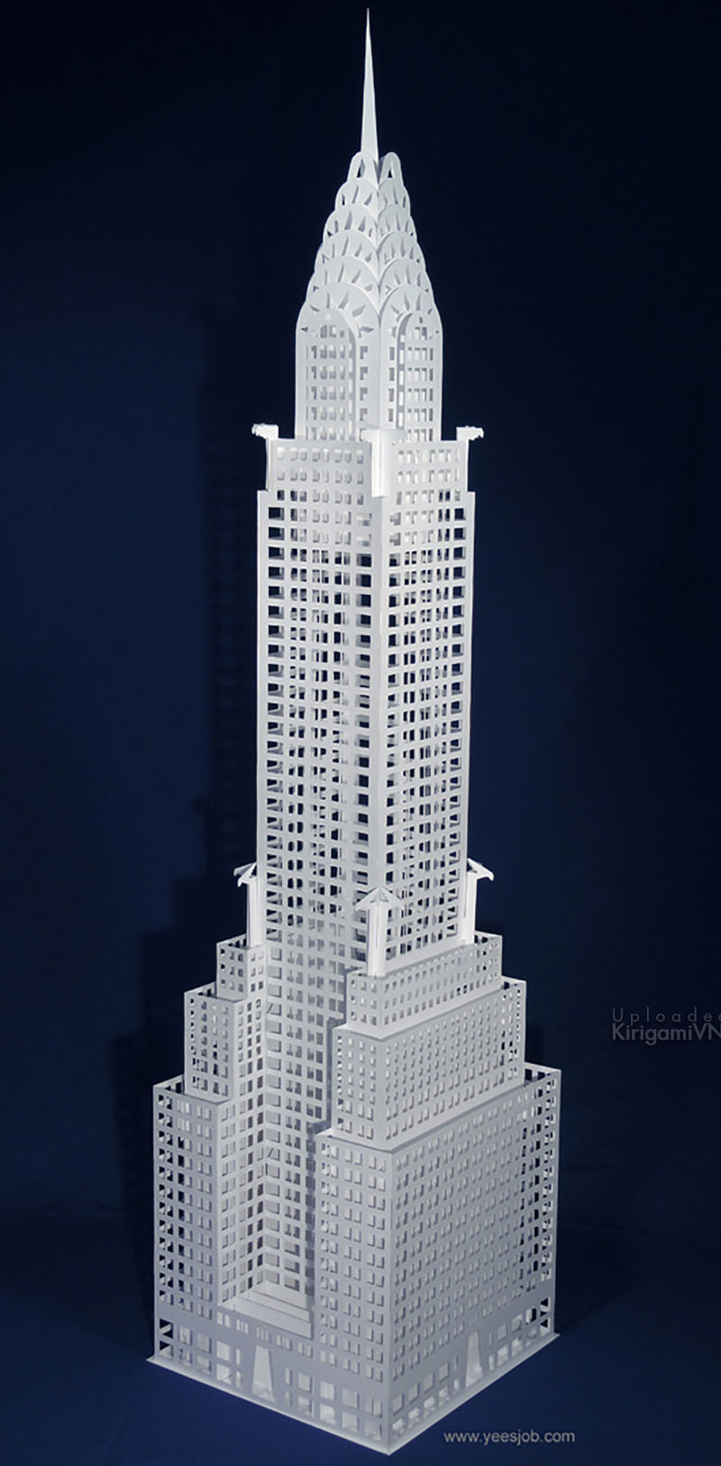 The Chrysler Building preview kirigamivn 1