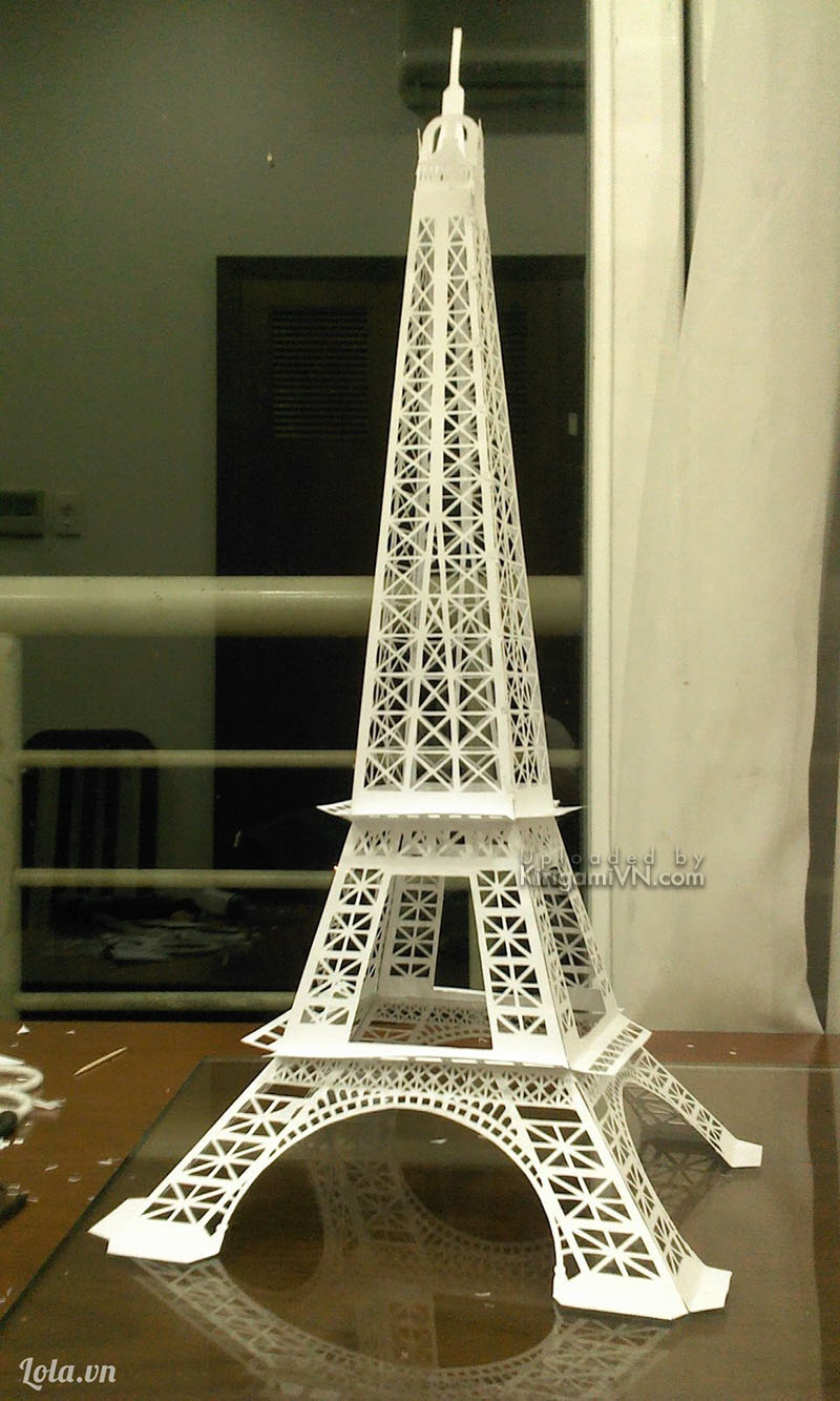 The Eiffel Tower Pattern KirigamiVn preview 1
