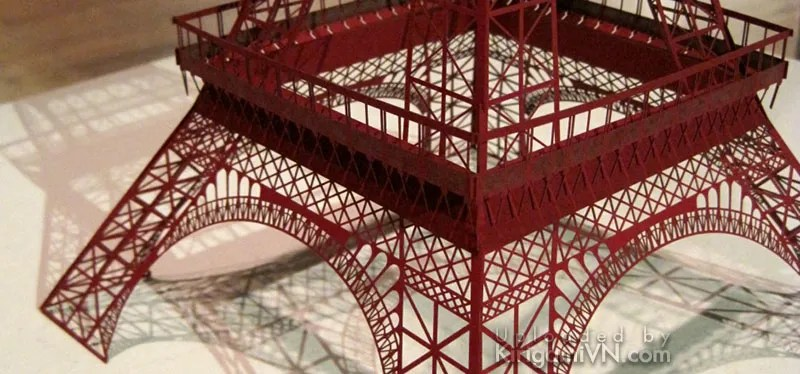 The Eiffel Tower Pattern KirigamiVn preview 2