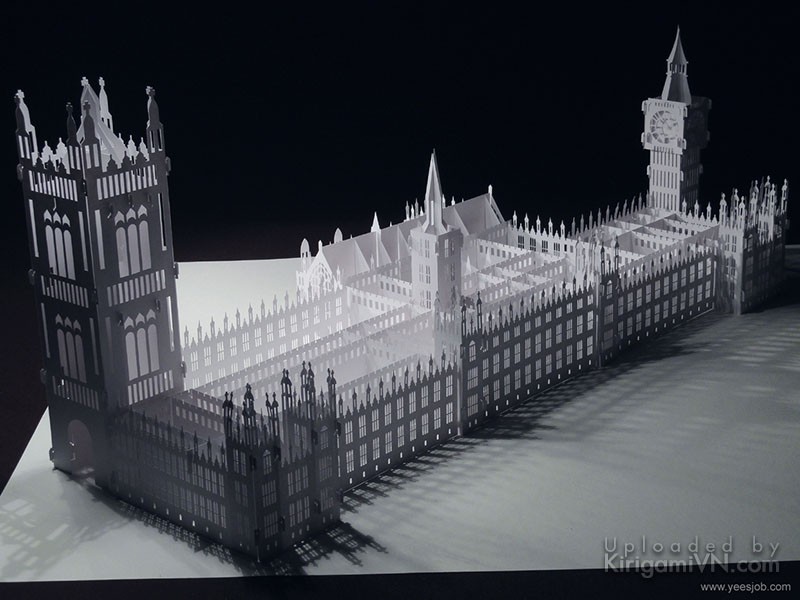 The Palace of Westminster preview kirigamivn 1
