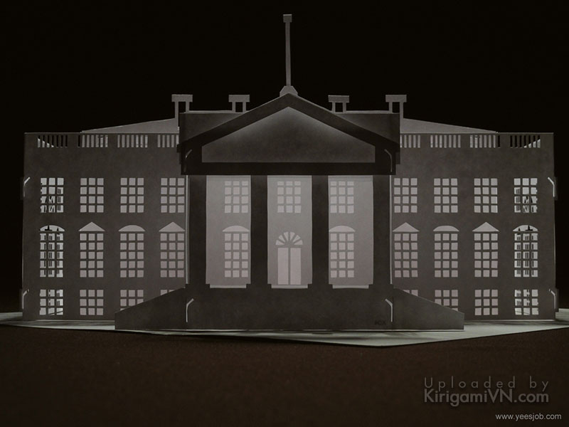The White House preview kirigamivn 4