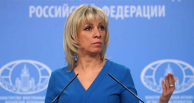 Rusya Dışişleri Bakanlığı Sözcüsü Zaharova, İdlib ateşkesini yorumladı