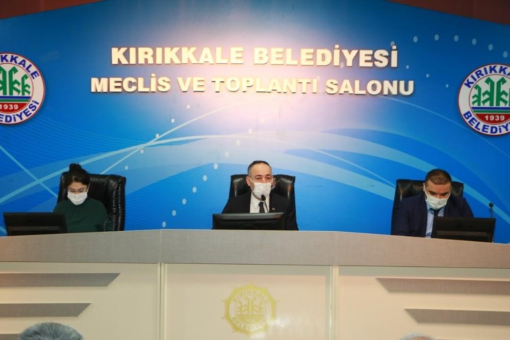 Kırıkkale Belediyesi 2021 yılının ilk meclis toplantısı gerçekleştirdi