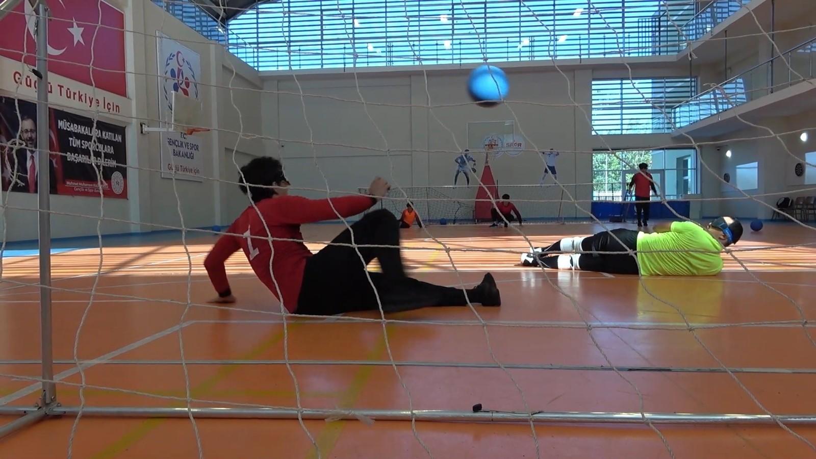 Kazakistan Goalball Milli Takımı, Kırıkkale'de kamp yaptı