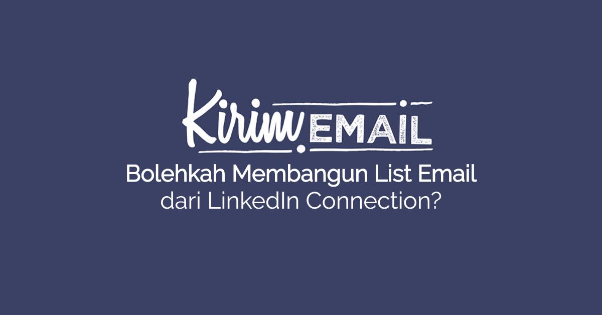 Bolehkah Membangun List Email