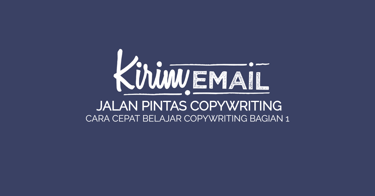 JALAN PINTAS COPYWRITING BAG 1