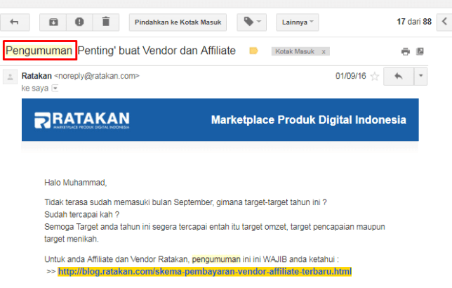 Konten Email Marketing