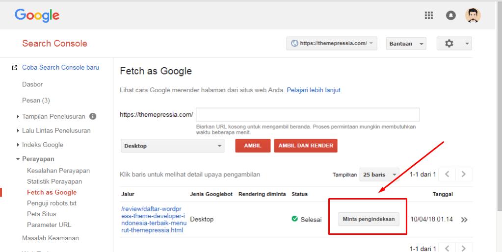 Agar Artikel Website Terindex Google Dengan Cepat