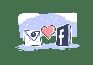 mail love FB