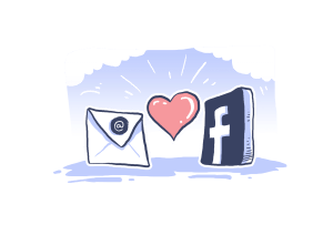 mail love FB