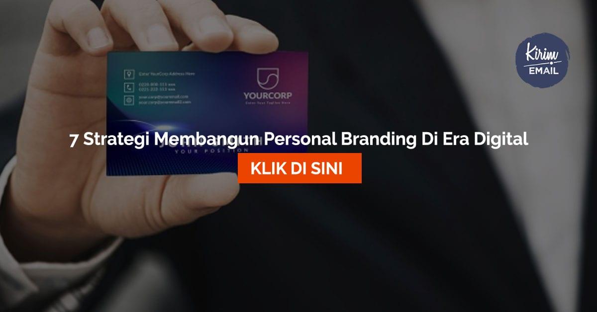 7 Strategi Membangun Personal Branding Di Era Digital