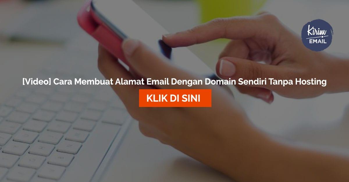 [Video] Cara Membuat Alamat Email Dengan Domain Sendiri Tanpa Hosting