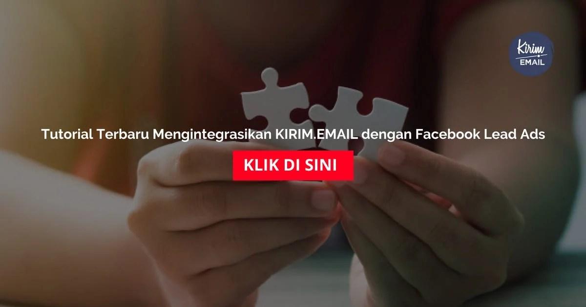 aTutorial Terbaru Mengintegrasikan KIRIMEMAIL dengan Facebook Lead Ads