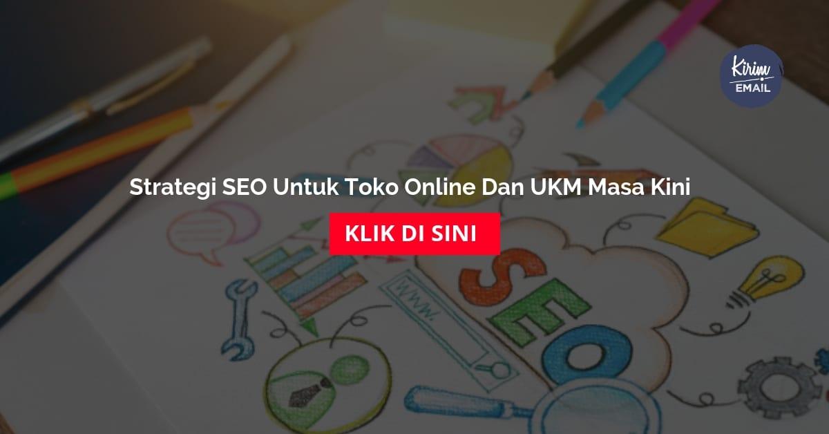Strategi SEO Untuk Toko Online Dan UKM Masa Kini