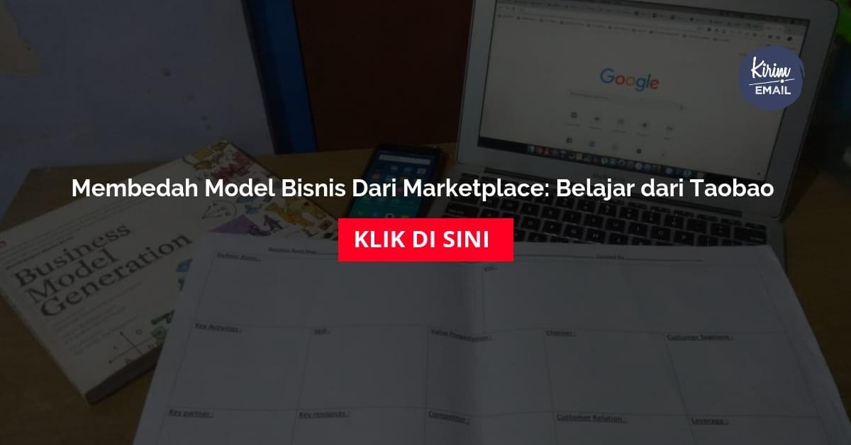 Membedah Model Bisnis Dari Marketplace Belajar dari Taobao