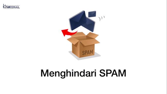 menghindari spam
