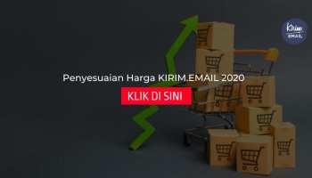 Penyesuaian Harga KIRIM.EMAIL 2020