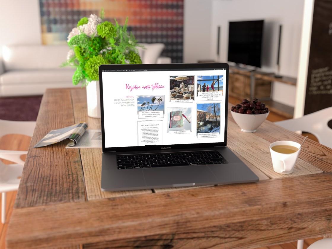 Hello World - eli miten perustin ensimmäisen WordPress-blogini