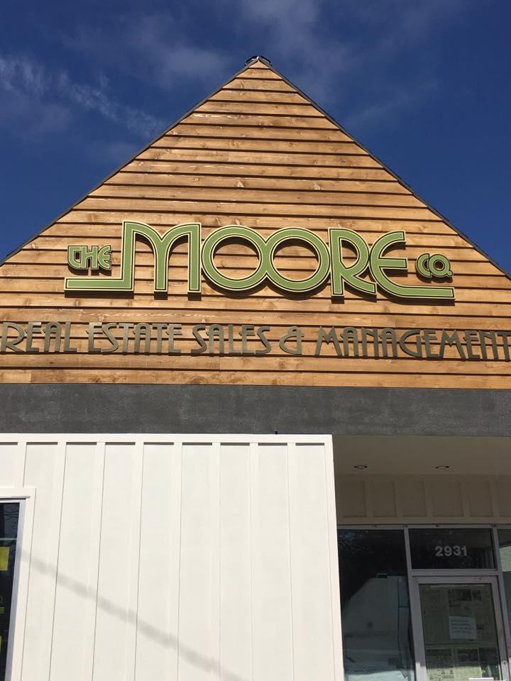 Moore facade