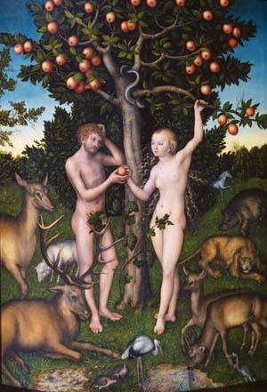 Lucas Cranach's <i>Adam and Eve</i>