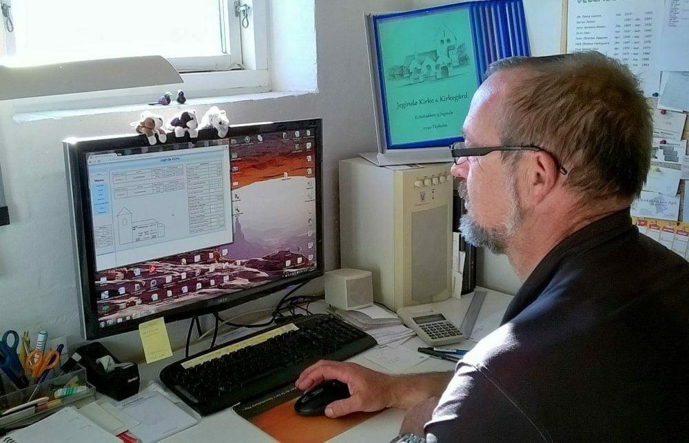 Ernst Møller Lauridsen bruger automatisk varmestyring fra EG Brandsoft