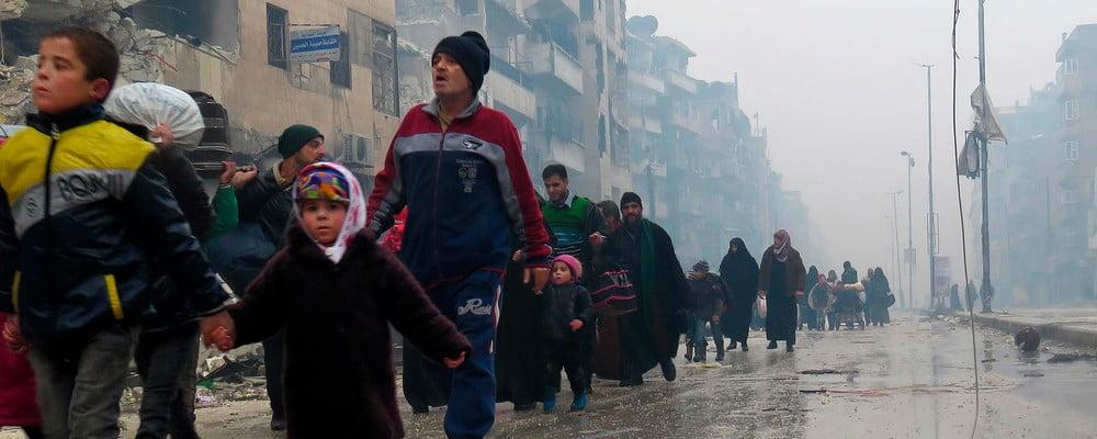 Aleppo i Syrien bløder. Danske biskopper opfordrer til at hjælpe.