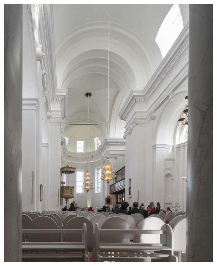 Fredrikskyrkan i Karlskrona renoveret