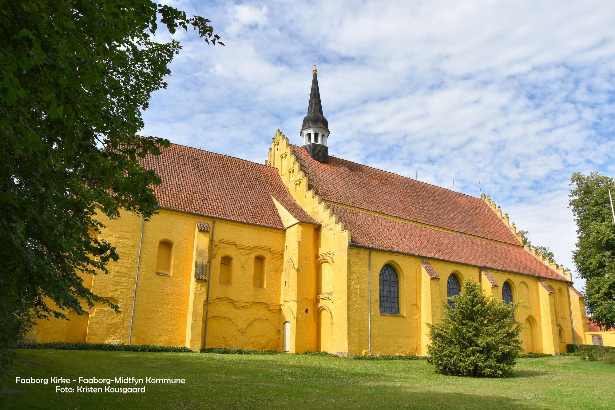Faaborg Kirke. Helligaandskirken. Foto: Kousgaard