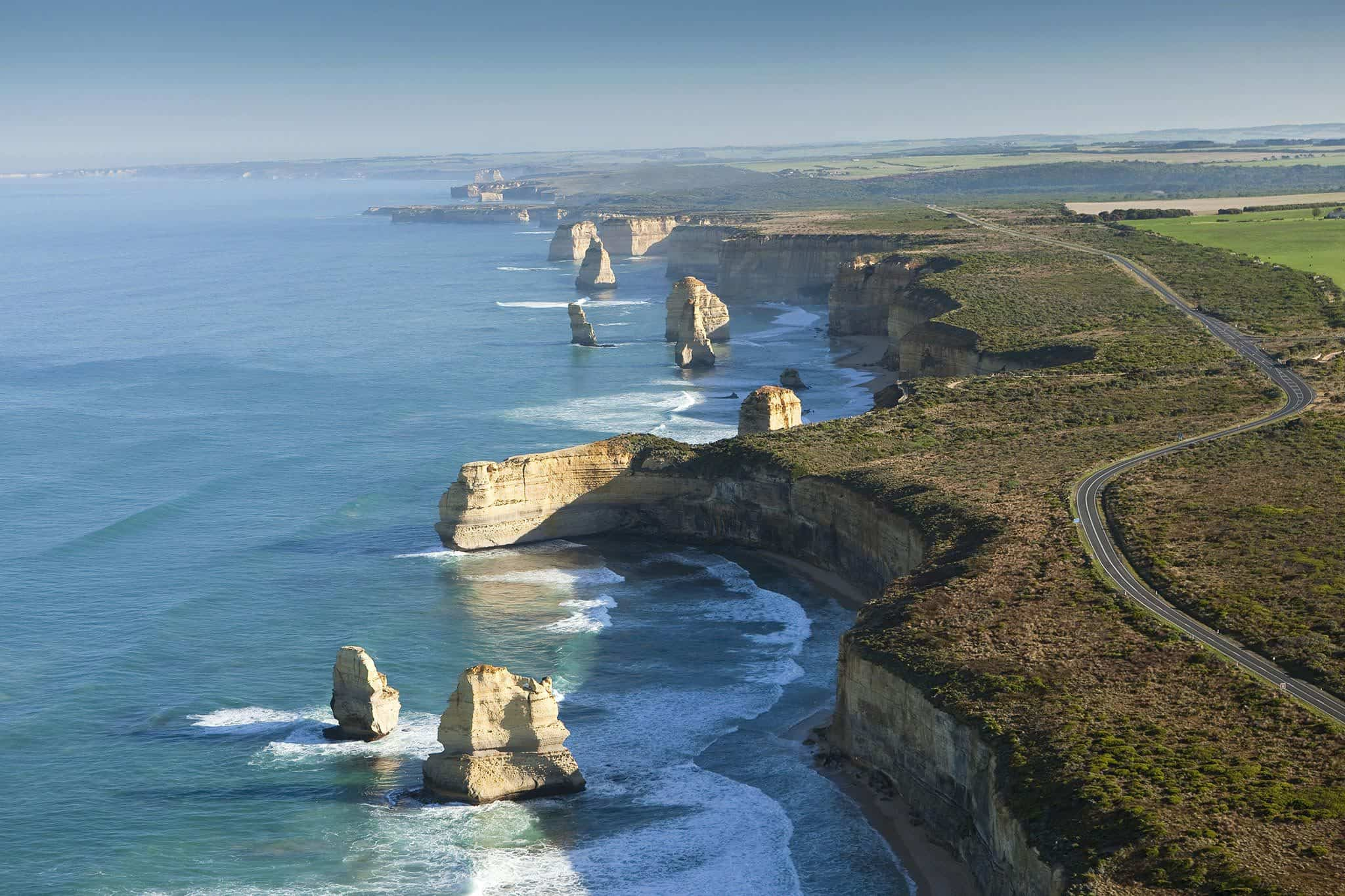 Day Tour Experience The 12 Apostles On A Scenic Flight