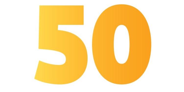 Numero 50.