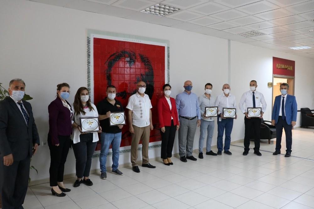 Lüleburgaz'da yıldızlı işletmeler ödüllendirildi