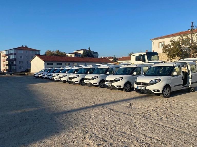 Filyasyon ekiplerine 10 araçlık lojistik desteği